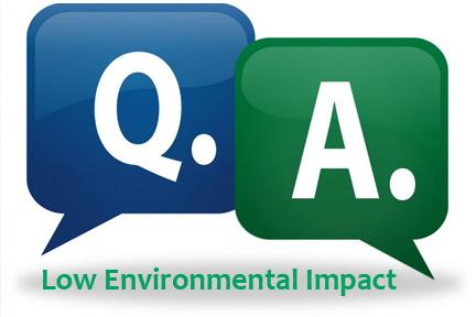 Low Environmental Impact